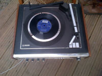 Vintage Philips Reord Deck and integrated receiver/amplifier