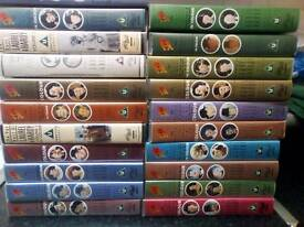 Collection of laurel and hardy videos for sale