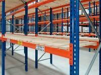 Pallet warehouse racking