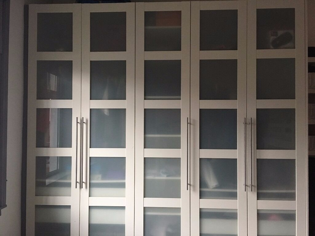 Ikea Bergsbo Doors For Pax Wardrobes In Newtongrange