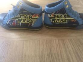 Star Wars high tops size 10 Disney store