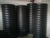 6 twinwall pipe 2m long