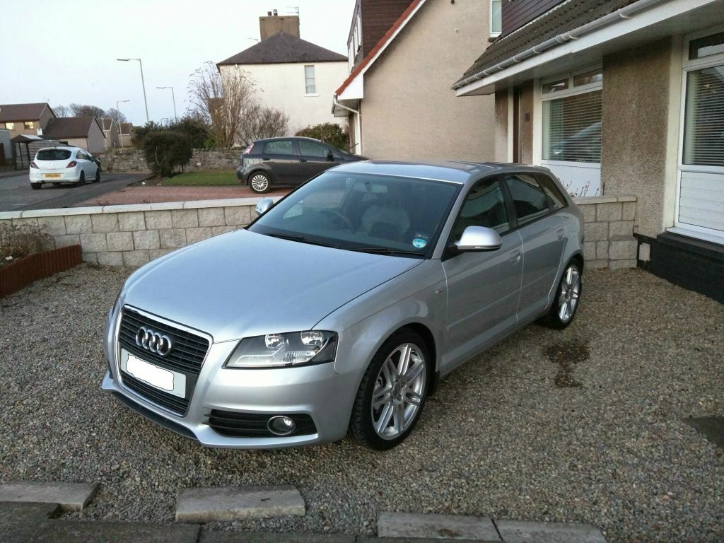 audi a3 2 0 tdi s line sportback heated seats 58 plate in carnoustie angus gumtree. Black Bedroom Furniture Sets. Home Design Ideas