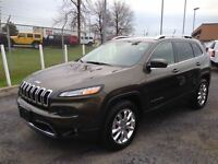 2015 Jeep Cherokee LIMITED****NAV***LTHR***BCK UP CAM