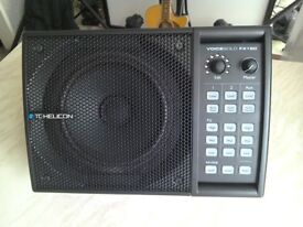 TC Helicon VoiceSolo FX150 Speaker + Padded Case