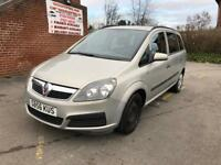 Vauxhall Zafira 1.6 i 16v Life 5dr 7 SEAT 12 MONTH MOT EXCELLENT CONDITION DRIVES PERFECT