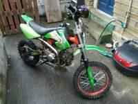 50cc pitbike