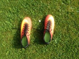 Football Boots, Nike, Size 6