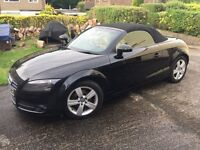 2007 Audi TT Convertable Black edition. Stunning car with full service history and MOt until Nov .