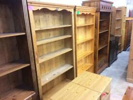 Quality used solid wood / pine bookcase, dresser, bureaus, Sideboard