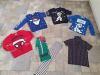 Boys Christmas clothes bundle 5 to 7 years old