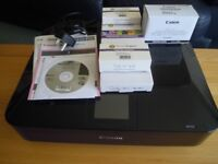 Canon Pixma MG7150 all in one printer/scanner & new ink FOR SPARES OR REPAIR