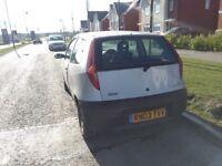 Fiat Punto 2003 1.2L Manual 3 door