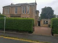 Parking spaces available in Merchiston Place outside Victorian villa behind large hedge £135pm