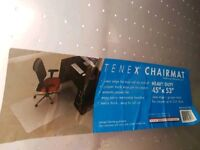 Carpet protector chair floor mat