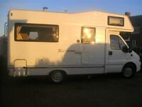 Motorhome Wanted 4 to 6 Berth must be in excellent condition with service history