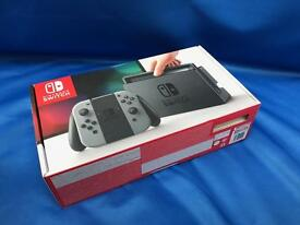 New Nintendo Switch Grey Game Console