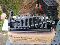 Atco QX Quick Exchange 14 inch/35cm Lawn Scarifier Cassette - Pre-owned but unused