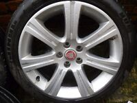 "JAGUAR XF 18"" VENUS ALLOY WHEEL - 245/45/R18 (Retail at over £1600) REDUCED TO SELL PRICE"