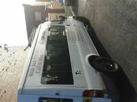 14 seater minibus for hire for any occasion airport transfers nights out contract work.