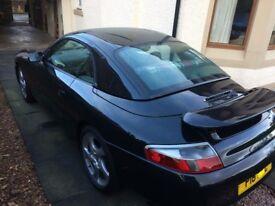 Porsche 996 Basalt Black Hard top
