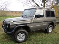 MERCEDES G WAGEN WAGON G CLASS 230GE AUTO 4X4 SWB W460 - Amazing condition for age, overhauled