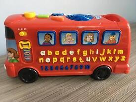 Vetech alphabet phonics bus, immaculate, bargain at £10