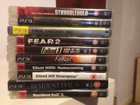 10 PS3 Games in perfect working order
