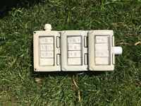 Outdoor electrical switch box