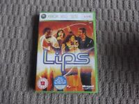 LIPS XBOX 360 GAME