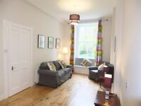 1 bedroom fully furnished ground floor flat to rent on Comely Bank Row, Stockbridge, Edinburgh