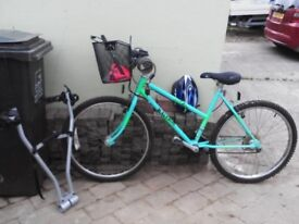 Good Genuine Raleigh Bicycle, complete with range of accessories