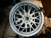 "Bk racing 18"" 4x100 + 4x108 wheels"