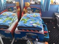 Toddler Thomas Bed with Mattress