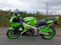 Kawasaki, Ninja ZX 6, 1999, 599 (cc)