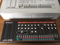 Roland Boutique JX03 synthesizer module
