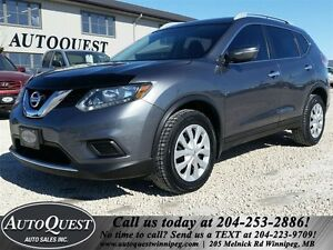 2014 Nissan Rogue S - 2.5L AWD LOCAL MB SUV! ACCIDENT FREE!