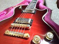 GIBSON LES PAUL CUSTOM 1994 WINE FLAME TOP