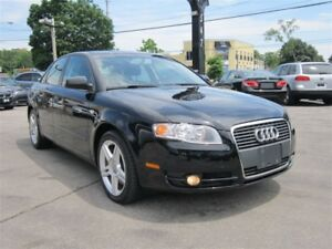 2007 Audi A4 2.0T~113KMS~LEATHER~SUNROOF~MANUAL !!!