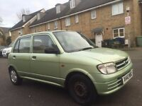 Daihatsu Coure 1.0L Automatic Patrol ***Low Mileage***One year MOT***