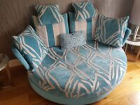 Fama Myapple sofa. Excellent condition - like new.