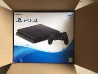 ps 4 BRAND NEW STILL BOXED. Comes with soccer game download code