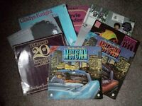various vinyl albums, 12in singles and 7in singles