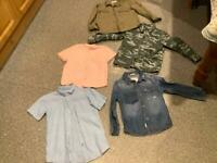 BOYS AGE 5-6 BUNDLE OF 5 items in IMMACULATE CLEAN CONDITION washed and ready to wear thanks 😊