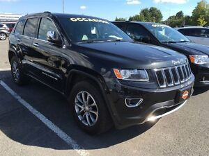 2014 Jeep Grand Cherokee LIMITED * NOUVEL ARRIVAGE!!