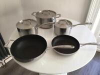 Jasper Conran 5 piece pan set
