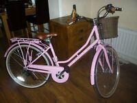 Ladies Belgravia Viking Pink Bicycle