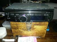 car stereo pioneer and 2000watt ,tx 2000 amp and .300 watt speakers