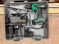 Hitachi 14 volt Cordless Drill Driver