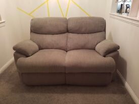 Grey Reclining Sofas £270 ONO